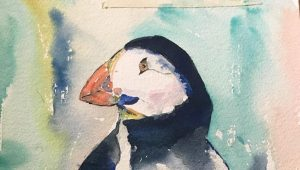 Audrey Kyle Puffin Frame