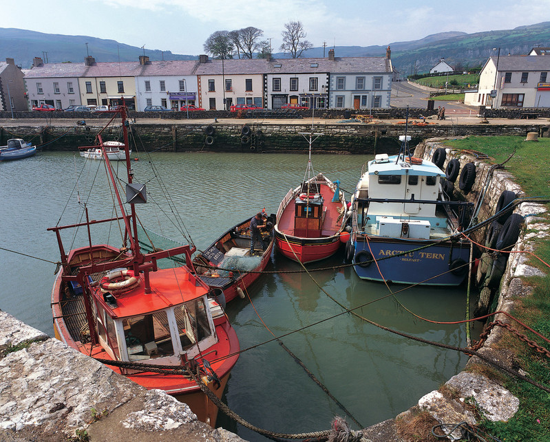Carnlough Town -Harbour