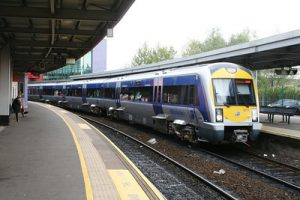 Belfast Laynon Place Train Station