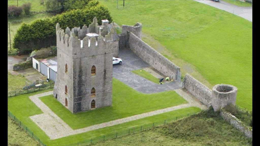 Kirkistown Castle